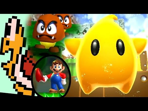Super Mario ALL GIANT WORLDS 1988-2013 (Wii U to NES)