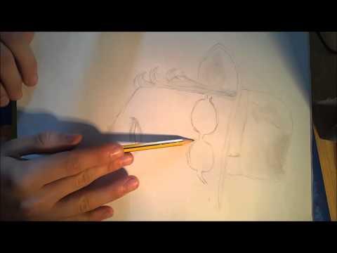 Menschen zeichnen/- Johnny Depp #1