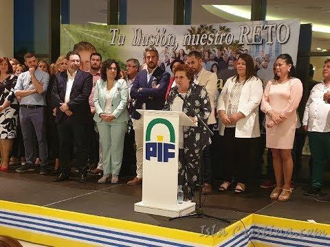 """Presentación en Isla Cristina Candidatura Partido """"Independiente La Figuereta"""" de Antonia Grao"""