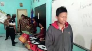 Latihan parade musik patrol SMP YPM 3 TAMAN sidoarjo