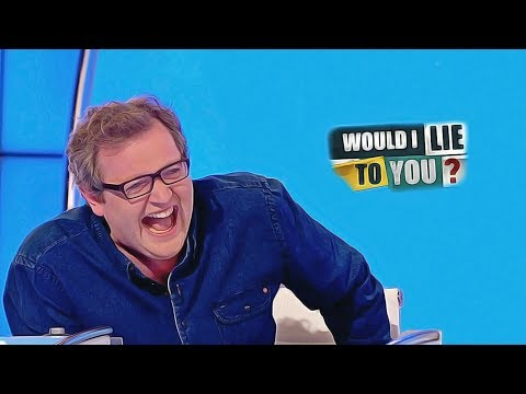 Miles Smiles And Guffaws - Miles Jupp On Would I Lie To You? [hd] [cc]