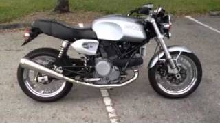 5. Ducati Sport Classic Gt 1000 with Marving slip on exhaust