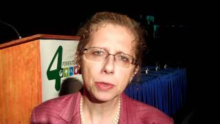 Inger Andersen, World Bank VP for Sustainable Development at UN Climate Change Conference in Cancun