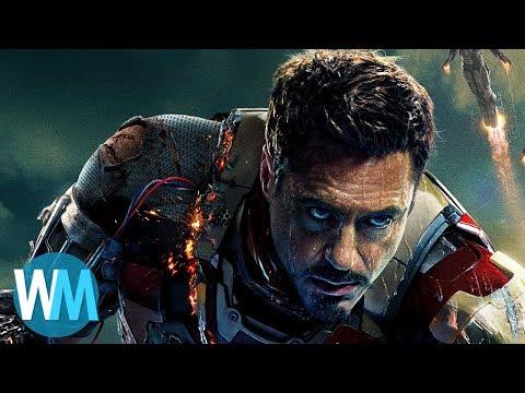 Top 10 Best Iron Man Moments (видео)