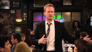 Barney Stinson - Challenge Accepted Compilation from How I Met Your Mother - YouTube