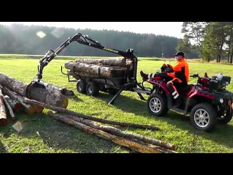 VAHVA JUSSI 400 with timber trailer