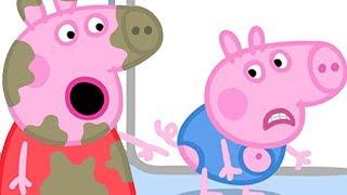 Peppa Pig Português Brasil  El cumpleaños de George  HD  Desenhos Animados