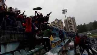 Vllaznit Ultras festojne ne Qemal Stafa