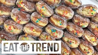 Fruity Pebbles Doughnuts | Eat the Trend by POPSUGAR Food