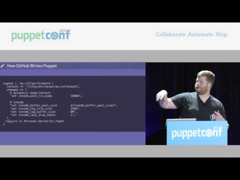 Puppet at GitHub – PuppetConf 2013