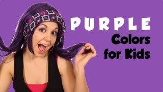 Learn Colors with Tayla, Color Purple