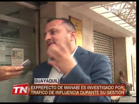Ex prefecto de Manabí no acudió a rendir su versión a la fiscalía del Guayas