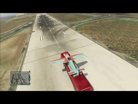 comment se poser en avion dans gta 5