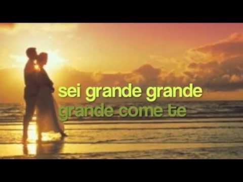 , title : 'Mina - Grande grande grande (con testo)'