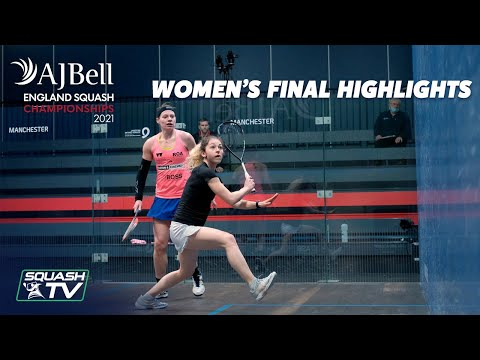 Perry v Kennedy - AJ Bell England Squash Championships - Women's Final Roundup