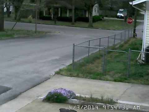 Camera - What a way to start your day......this video was recorded on my home surveillance camera. Some additional information: There was damage to the vehicle (side ...