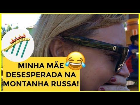 MINHA MÃE ASSUSTADA NA MONTANHA RUSSA! BETO CARRERO PARTE FINAL!