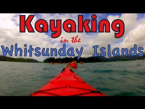 Kayaking the Whitsundays