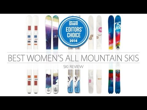 Krista Crabtree walks through the best 2014 women's all-mountain skis
