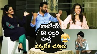 Video Jr NTR Making Super Hilarious Fun With Nivetha Thomas And Raashi Khanna | Jai Lava Kusa | TFPC MP3, 3GP, MP4, WEBM, AVI, FLV Oktober 2018