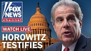 DOJ Inspector General Horowitz testifies on FBI's conduct in Russia probe