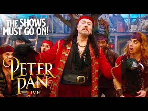 'Vengeance' Christopher Walken   Peter Pan Live