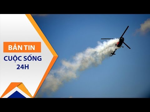 Ukraine: Rơi trực thăng quân sự, 5 người thiệt mạng | VTC - Thời lượng: 55 giây.