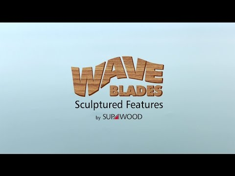 Wave Blades Sculpted Features by Supawood