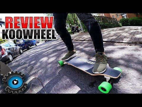 DAS GÜNSTIGSTE & BESTE  ELEKTRO LONGBOARD? Koowheel Review - Unboxing [Deutsch/German]