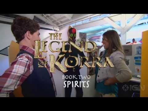 The Legend of Korra First Book 2 (Footage)