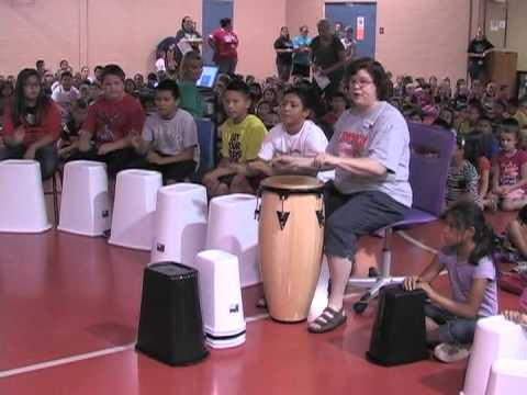 Ponca City Lincoln Students African Drum Circle October 4, 2013