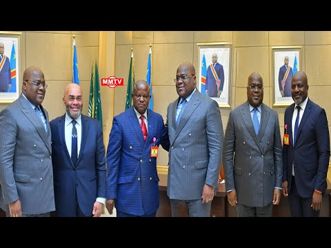 🔴FATSHI CONSULTE ADAM BOMBOLE,JC MUYAMBO...