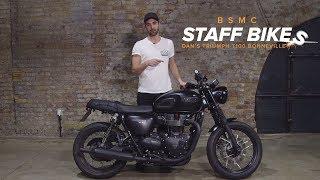6. Staff Bikes: Dan's Triumph T100 Bonneville