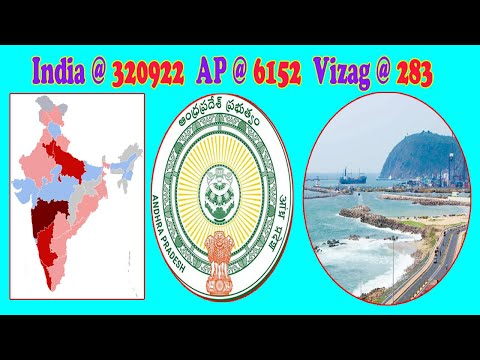 Covid-19 India @ 320922 AP @ 6152 Vizag @ 283 Increasing Positive Cases Day by Day Vizagvision...