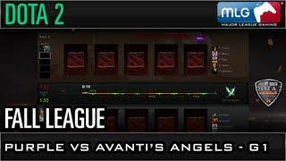 Fall League: Purple vs Avantis Angels Game 1