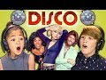 KIDS REACT TO DISCO SONGS!