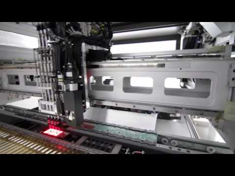 Produção com tecnologia SMD