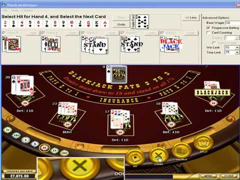 Black Jack Hacks   Watch BlackJack Sniper Make $95 British Pounds In Only 2 Minutes!
