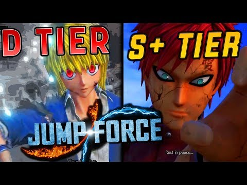 All Jump Force Ultimate Attacks & Awakening Techniques Tier List!