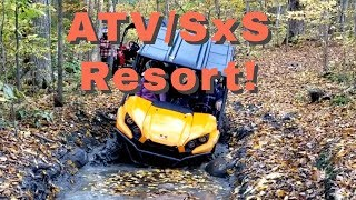 7. ATV and SxS Playground - Beachwood Hollow Resort, Tweed, Ontario (Part 1 of 2)