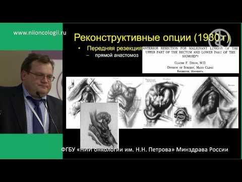 От физиологии прямой кишки к реконструктивной хирургии Рыбаков