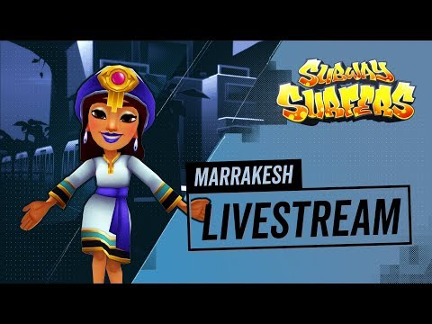 Subway Surfers | Live Stream | Marrakesh