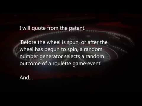 Roulette cheat, rigged?  Patented scam they don't want you to know…Quotes from patent in clip!