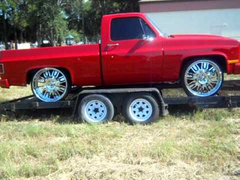 Chevy Short Bed Truck on 26