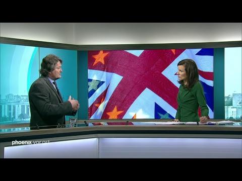 Rede von Theresa May zu Brexit-Gesprächen mit Irland, ...