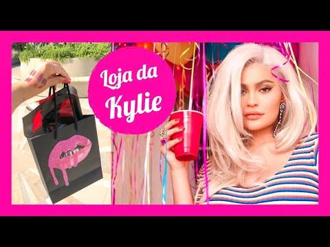 FUI NA LOJA DA KYLIE JENNER - Tour da Kylie Cosmetics em Los Angeles