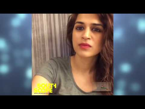 Actress Shraddha Das greets the readers of SouthScope on Independence Day