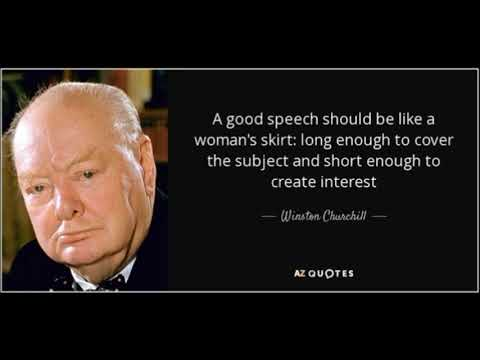 Winston Churchill - frases inteligentes -Tradução e voz de CAO ARAUJO