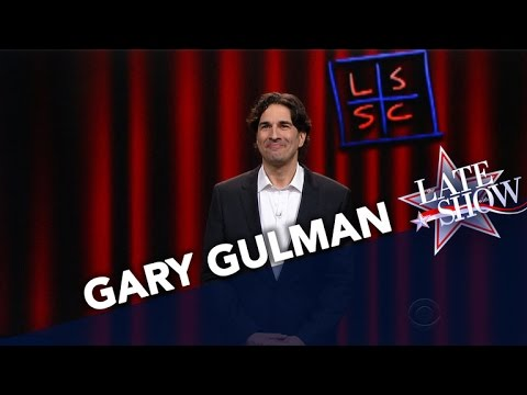 Gary Gulman StandUp on The Late Show