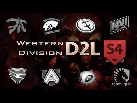 Dota 2 Top 10 Western Division | HyperX D2L